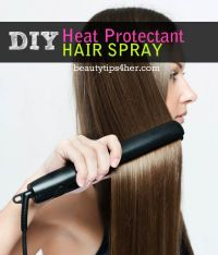 Protect Your Hair with This DIY Heat Protectant Spray