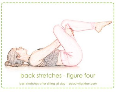 Image result for Figure-four stretch