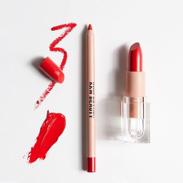 KKW Beauty Classic Red Creme Lipstick and Lip Liner