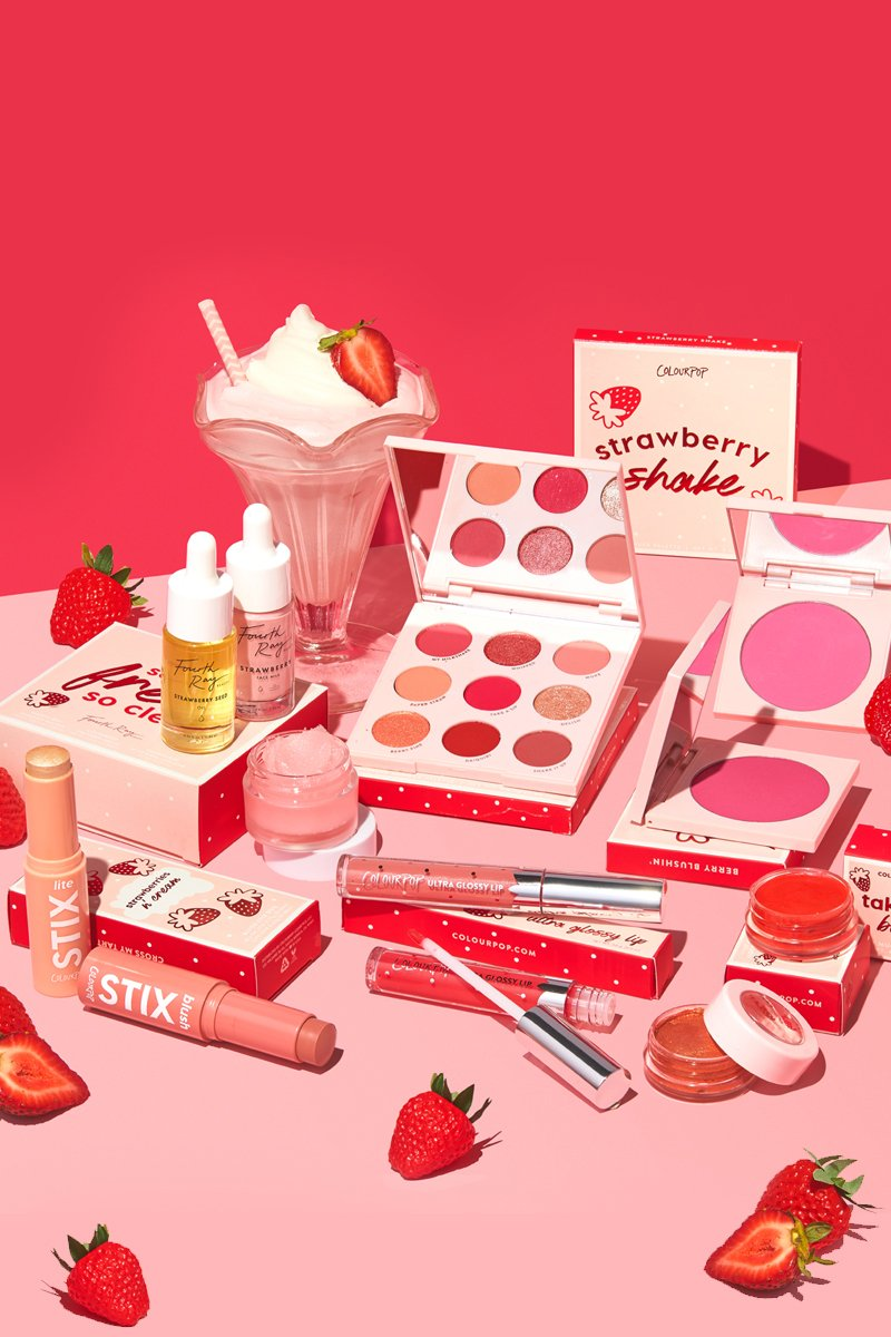 Colourpop Strawberry Fields Collection