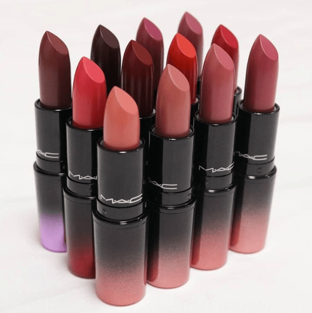 MAC Love Me Lipstick Collection