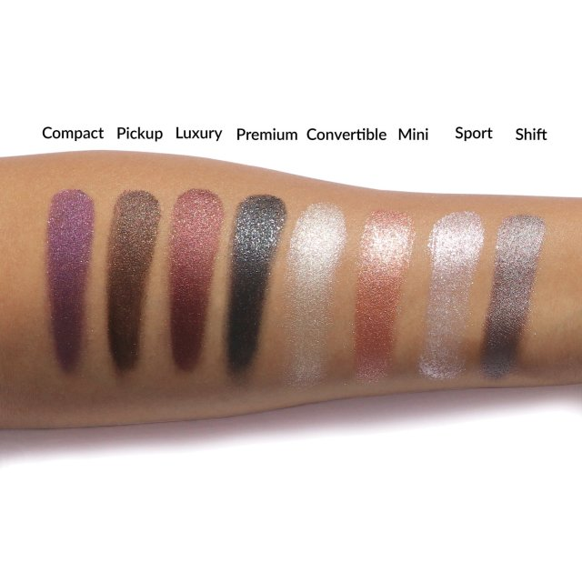 The Balm Petal To The Metal Shift Into Neutral Eyeshadow Palette 4