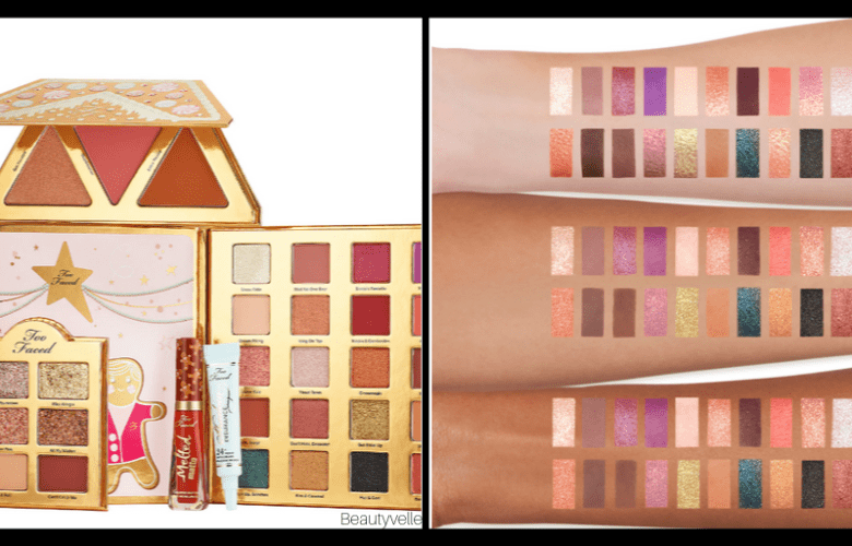 Too Faced Christmas Cookie House Banner Party Collection