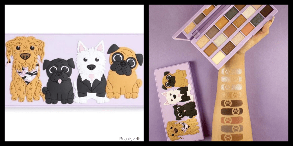 New Makeup!  Makeup Revolution Revo-Pooches Palette Collection