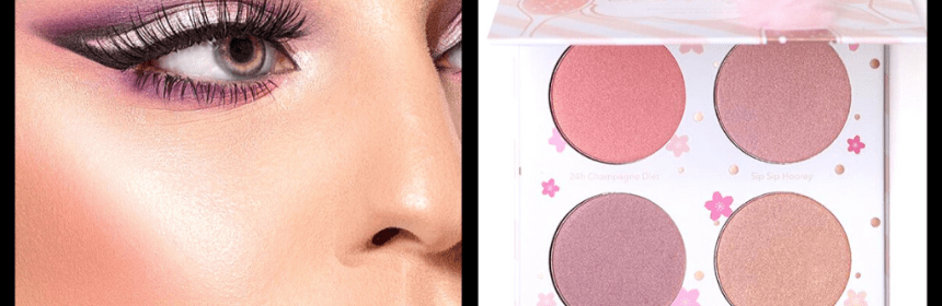 Beauty Bakerie Cotton Candy Champagne Blushlighter Palette