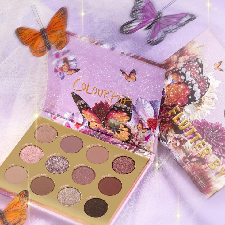 Back In Stock! Colourpop Flutter By Shadow Palette