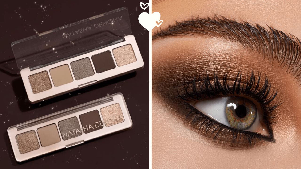New Makeup! Natasha Denona Mini Glam Eyeshadow Palette