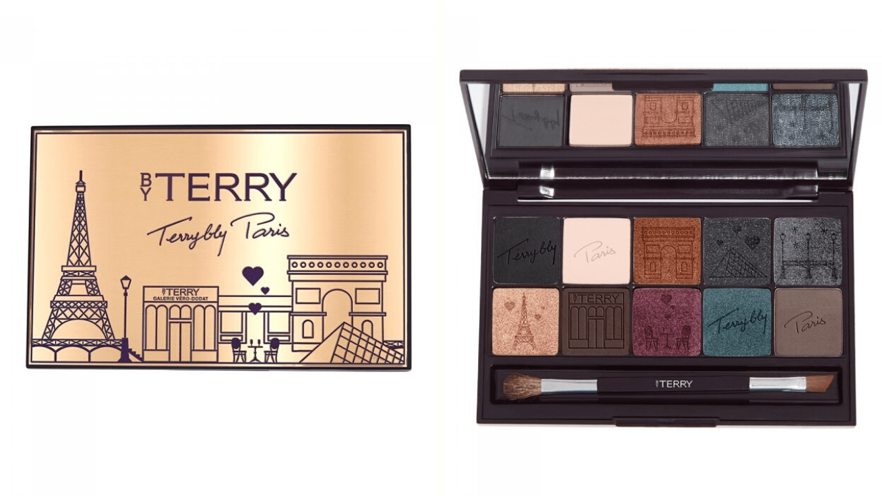 New Makeup! BY Terry VIP Expert Palette Paris By Night