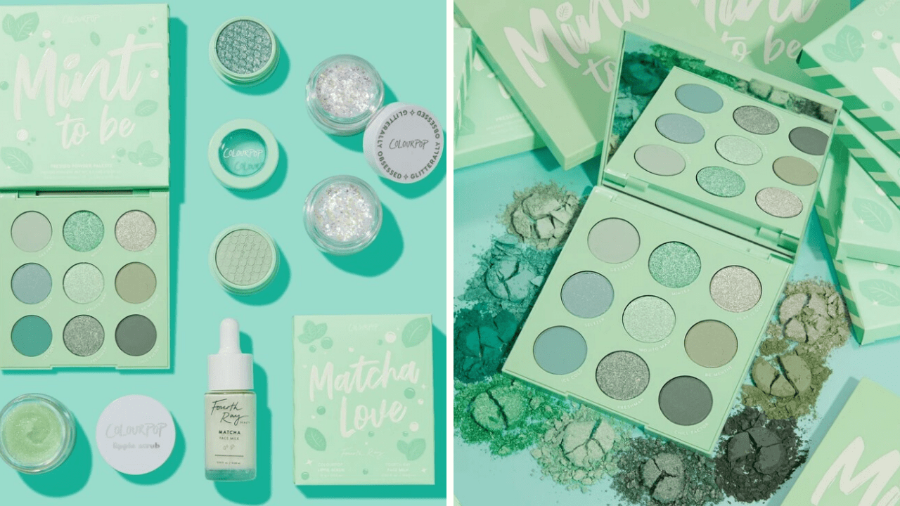 New Makeup! Colourpop Mint To Be Collection