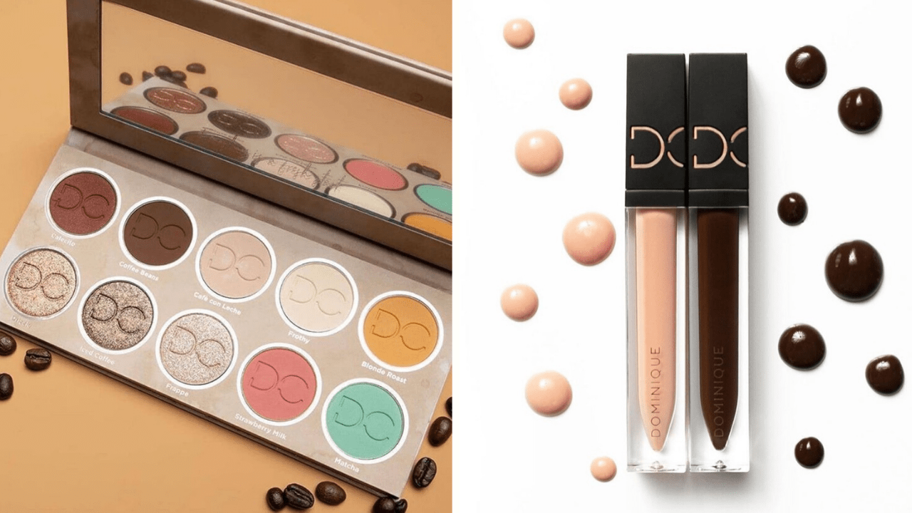 Coming Soon! Dominique Cosmetics Latte 2 Eyeshadow Palette Plus Lip Glosses