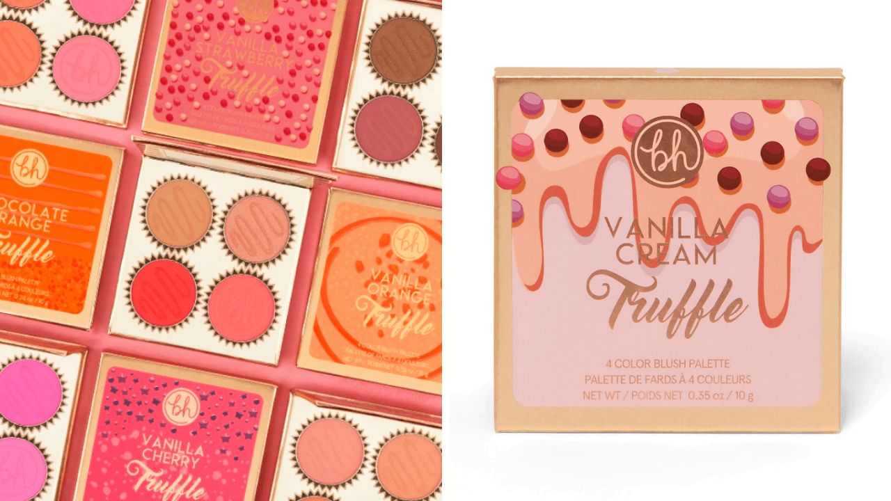 New Makeup! BH Cosmetics Truffle Blush Collection