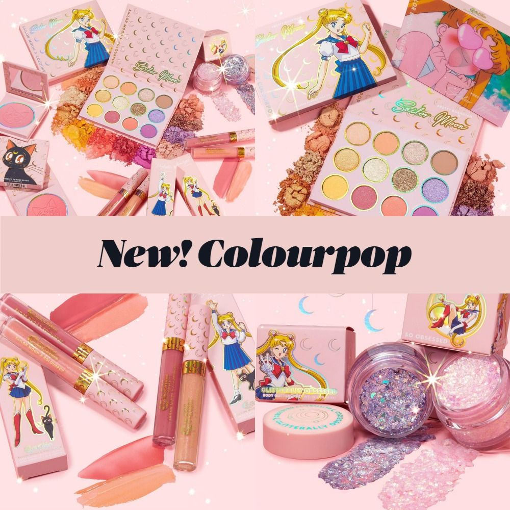 Brand New! Colourpop x Sailor Moon Collection