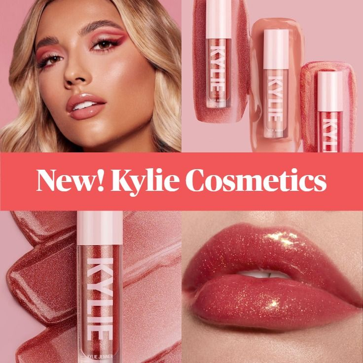 New! Kylie Valentines High Gloss - Perfect Kiss, Stuck On You, Wish Come True
