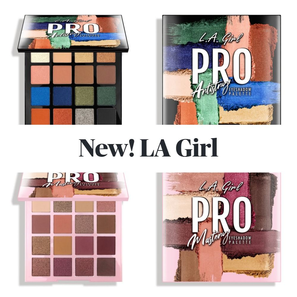 New! LA Girl PRO Eyeshadow Palettes