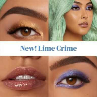 Coming Soon! Lime Crime Fairy Garden Collection