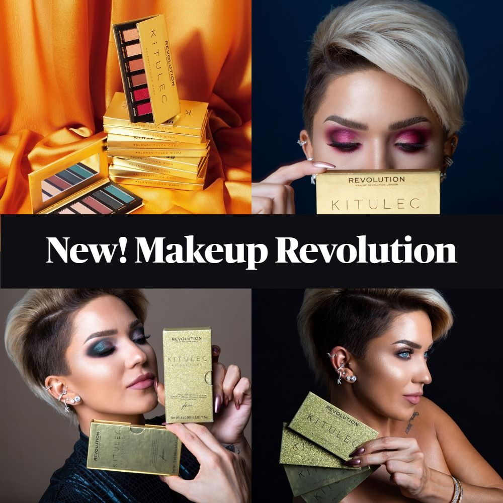 New! Makeup Revolution x Kitulec Blend Kit and Glow Kit