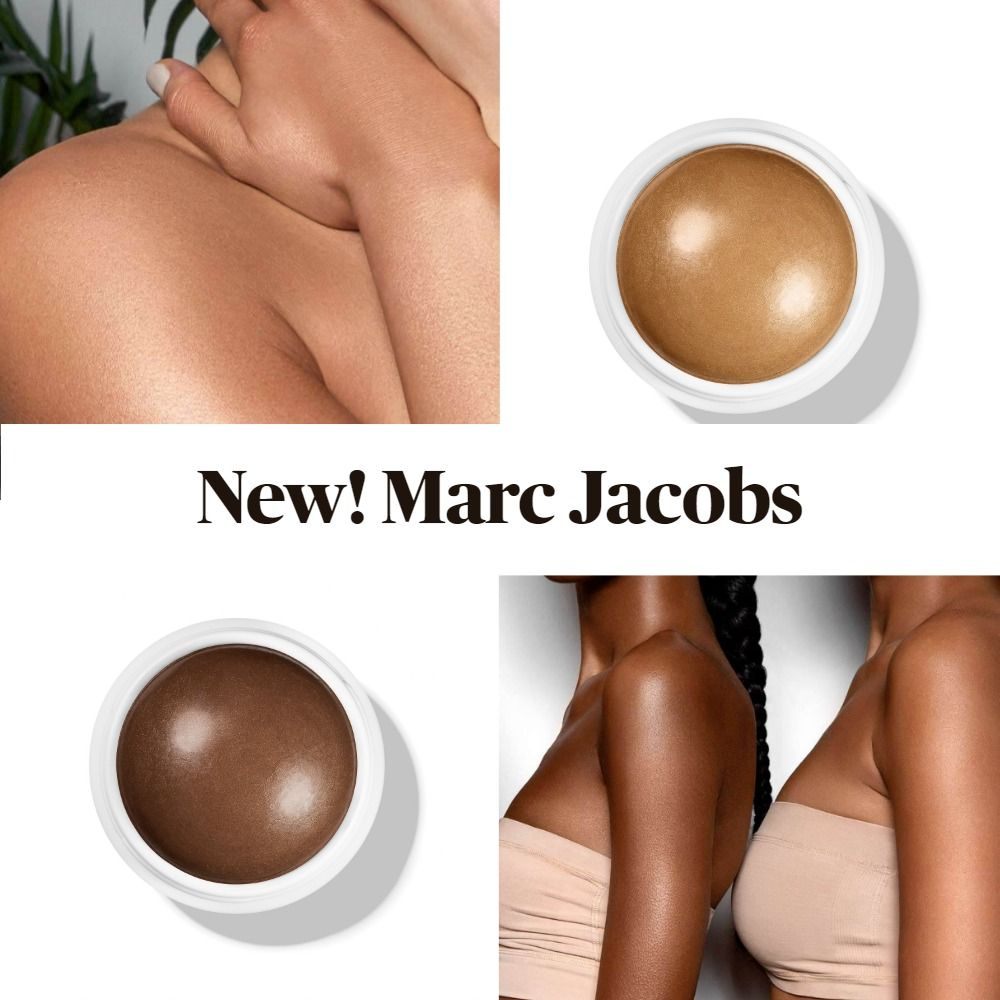 New! Marc Jacobs Glow Away Bronzing Coconut Body Stick