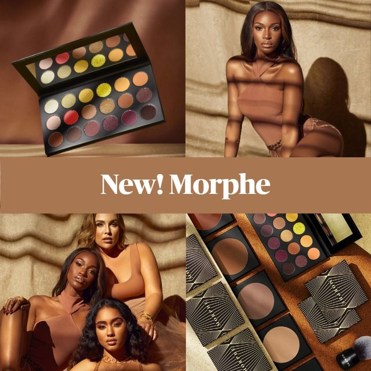 New! Morphe Glamabronze Collection