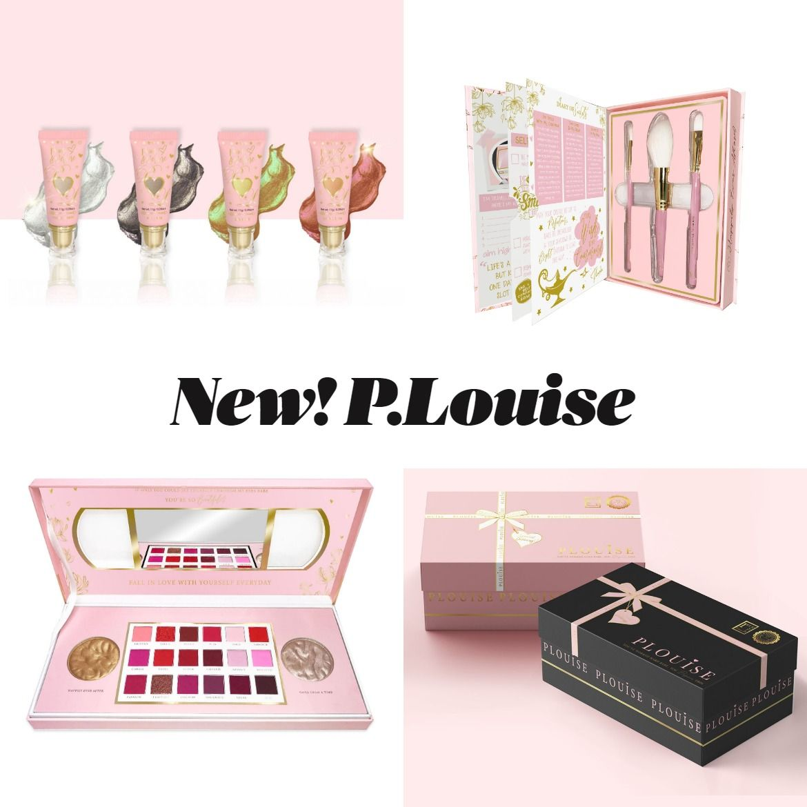 New Makeup! Plouise Valentines Day Collection 2020