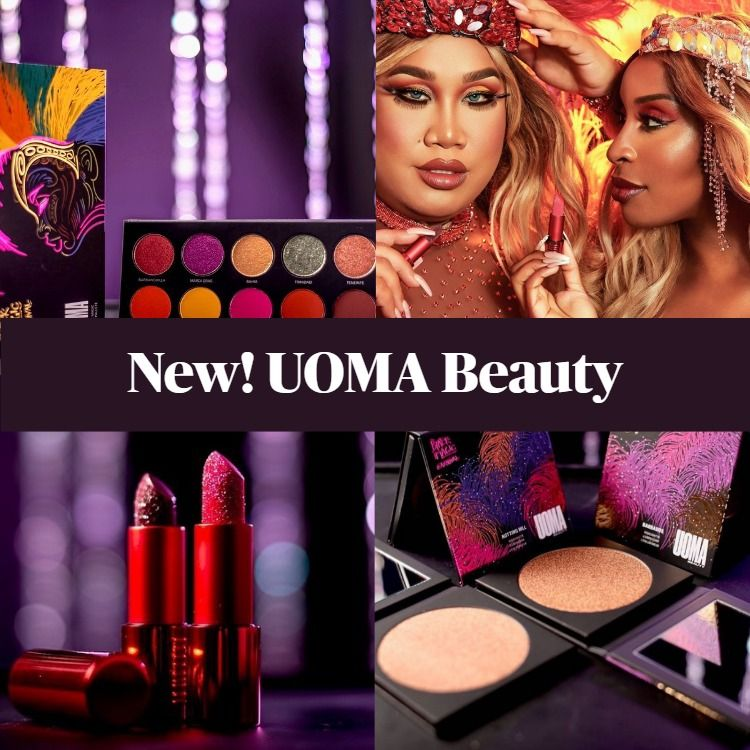New! UOMA Beauty Black Magic Carnival Collection