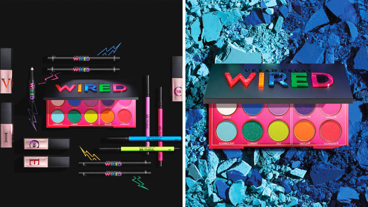 Coming Soon! Urban Decay Wired Collection Spring 2020