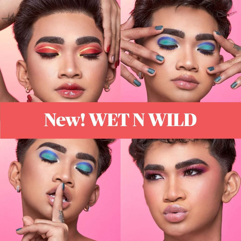Available Now! Wet N Wild x Bretman Rock - Jungle Rock Collection