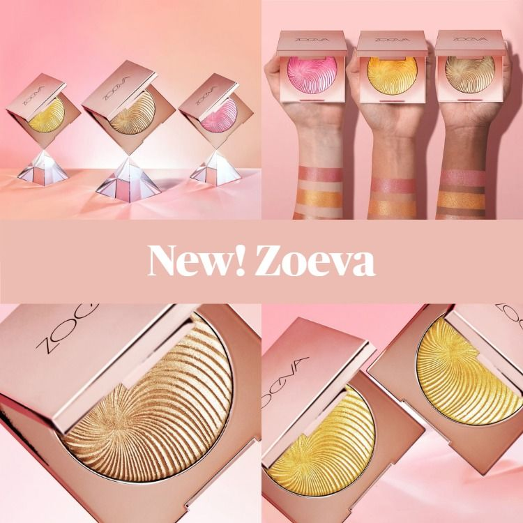New Makeup! Zoeva Visionary Light Face Powders