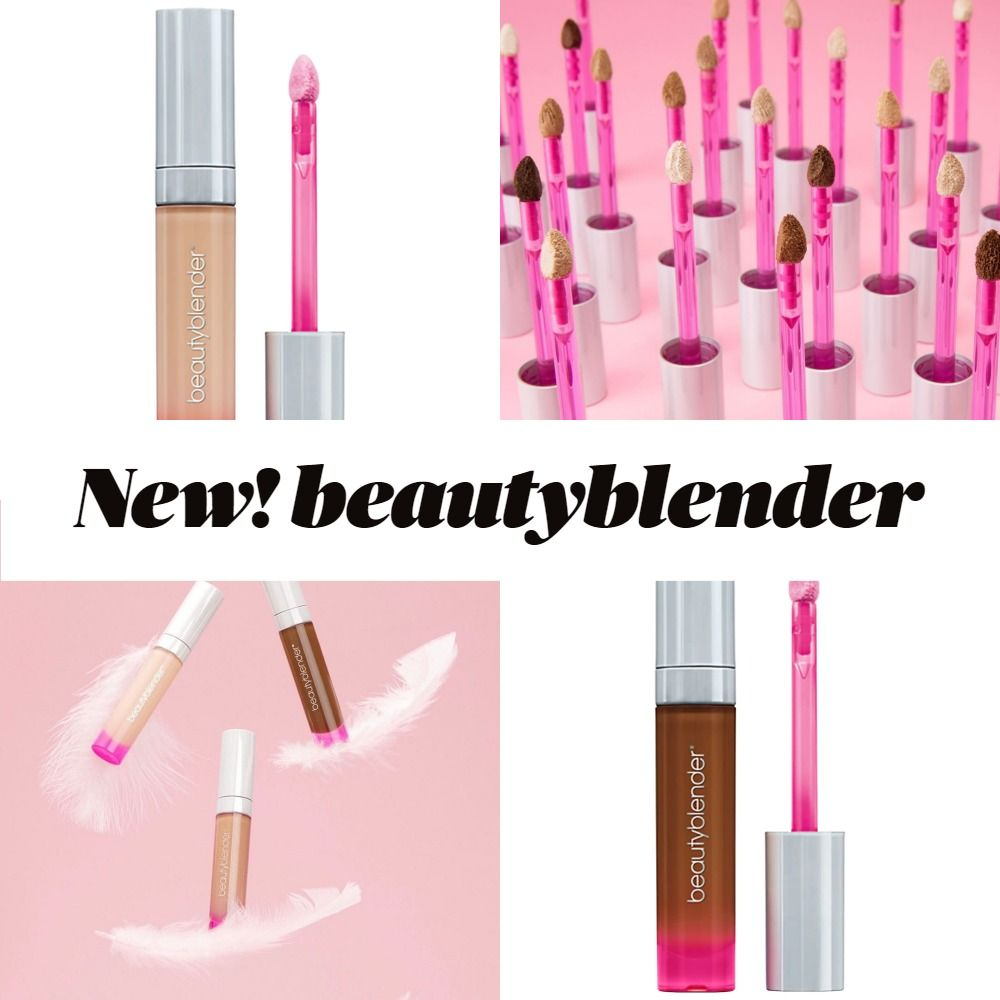 New! beautyblender BOUNCE™ Airbrush Liquid Whip Concealer