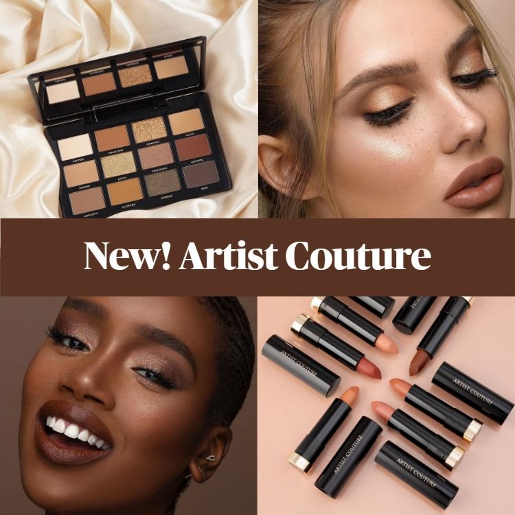 New Makeup! Artist Couture Supreme Nudes Collection