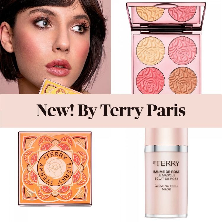 New! By Terry Brightening CC Palette and Baume De Rose Face Masks