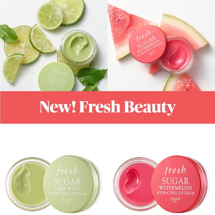 New! Fresh Beauty Sugar Hydrating Lip Balm