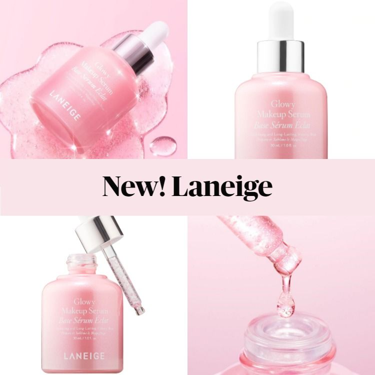 New Skincare! Laneige Glowy Face Serum