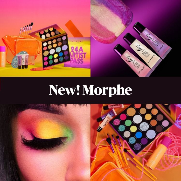 New Makeup! Morphe Backstage With Saweetie Collection