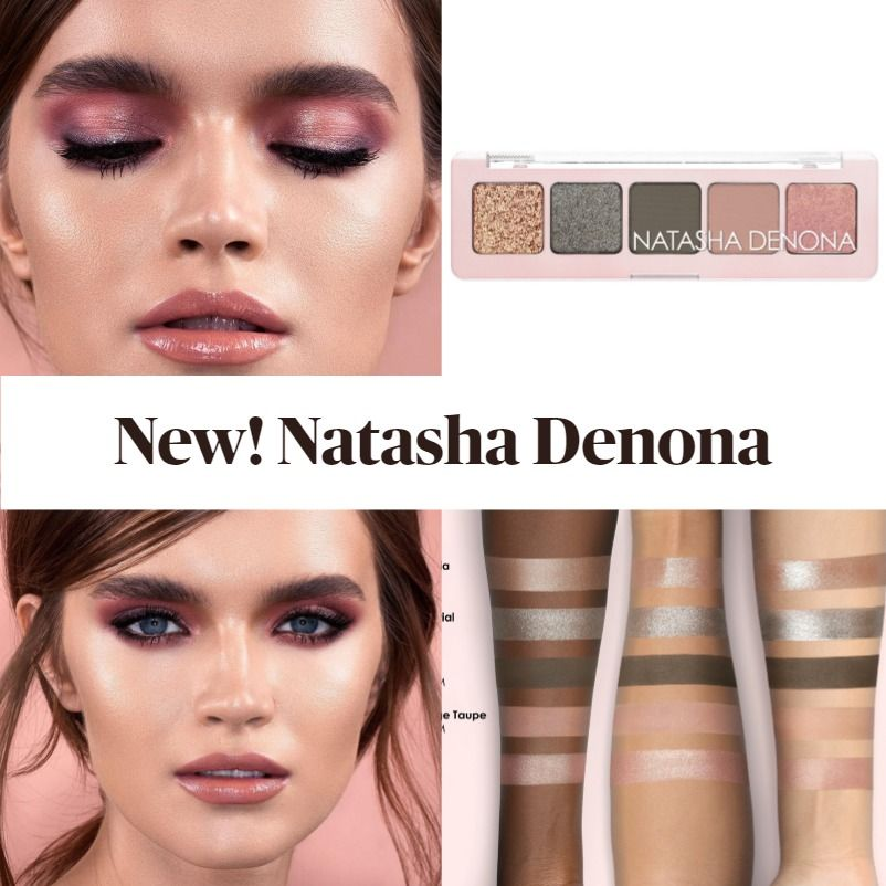 Get To Know The New Natasha Denona Mini Retro Eyeshadow Palette