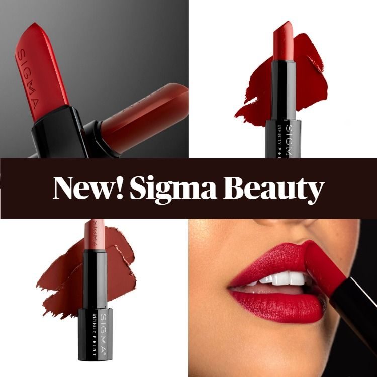 Sigma Beauty Infinity Point Lipsticks