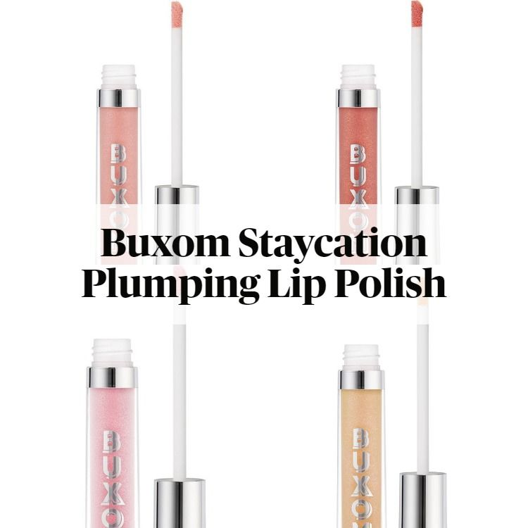 New! Buxom Staycation Vibes Collection Full-On Plumping Lip Polish