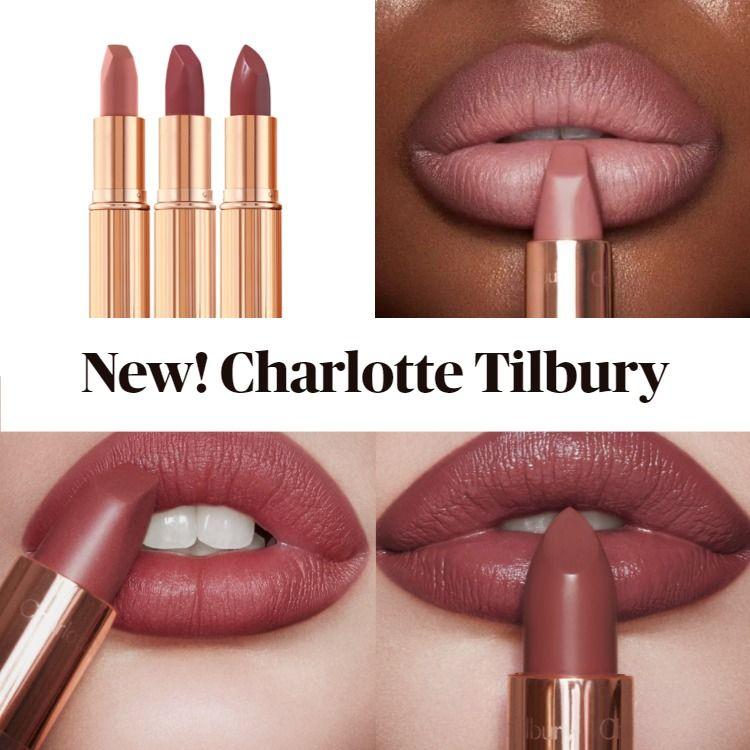 New! Charlotte Tilbury Pillow Talk Lipstick Wardrobe