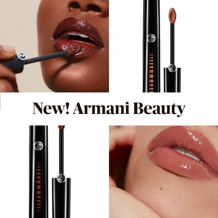 New! Armani Beauty Ecstasy Mirror Lip Lacquer