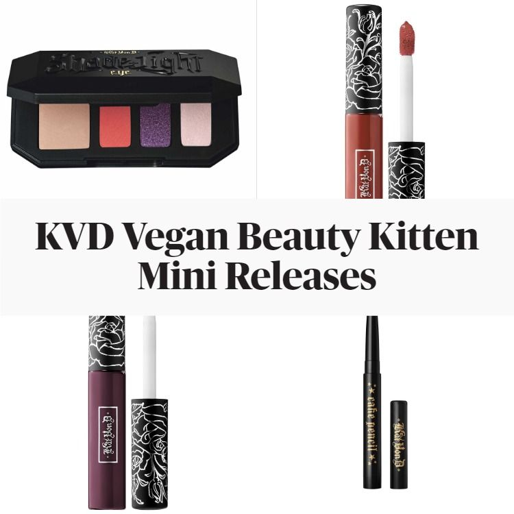 New! KVD Vegan Beauty Kitten Mini Releases Featuring NEÜPOP Shade + Light Eyeshadow Palette