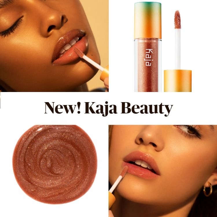 New! Kaja Beauty Vacay Shine Glowy Lip Balm Oil