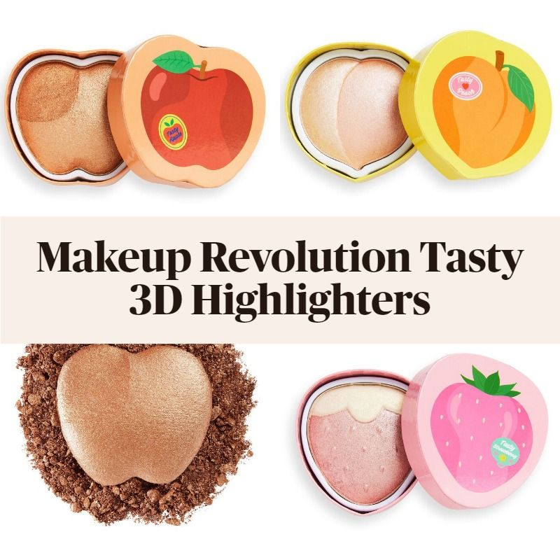 New! Makeup Revolution Tasty 3D Highlighters