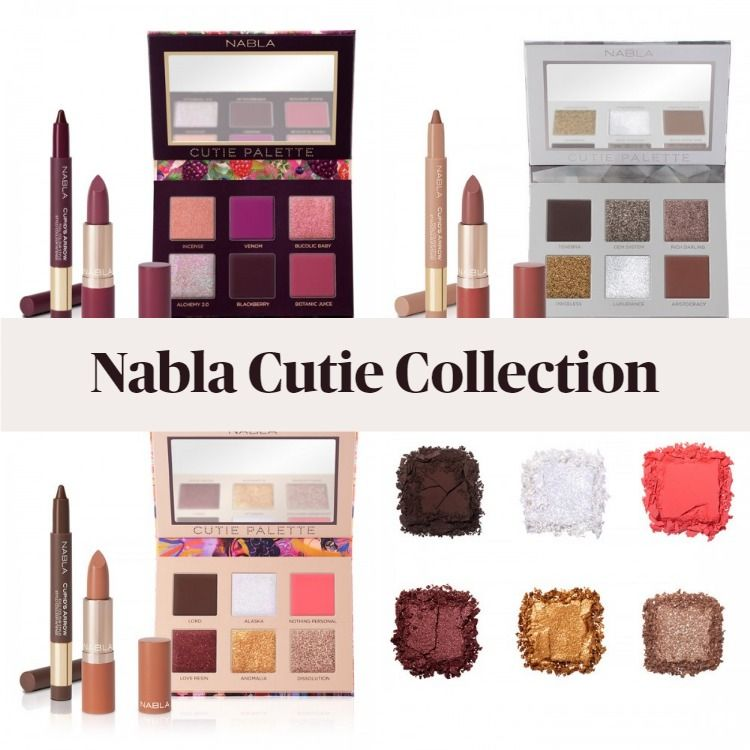 Get To Know The New Nabla Cosmetics Cutie Collection