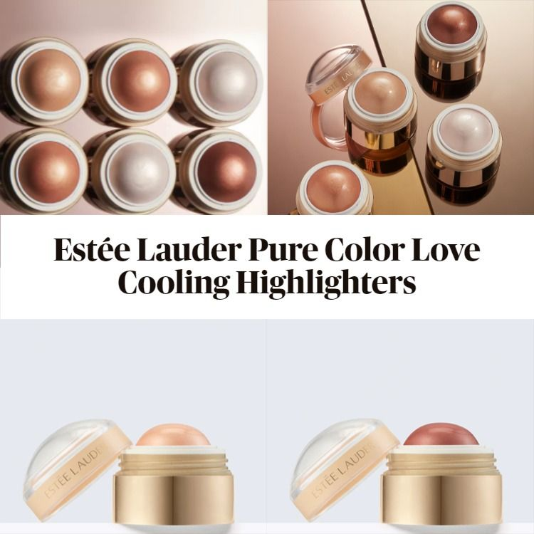 Get The Scoop On The New Estée Lauder Pure Color Love Cooling Highlighters