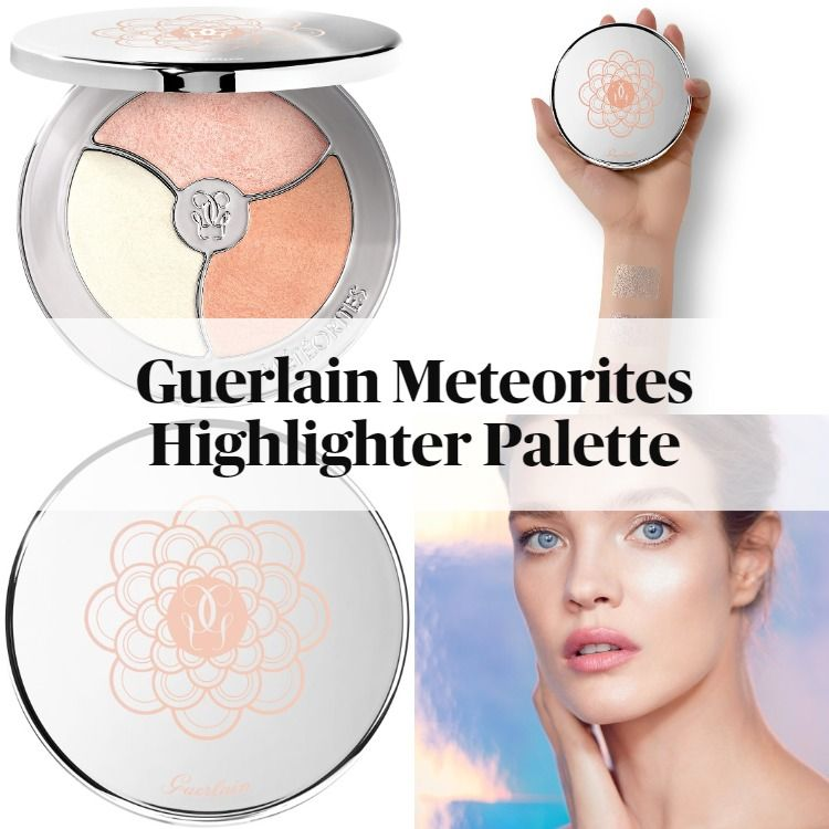 New! Guerlain Meteorites Highlighter Palette