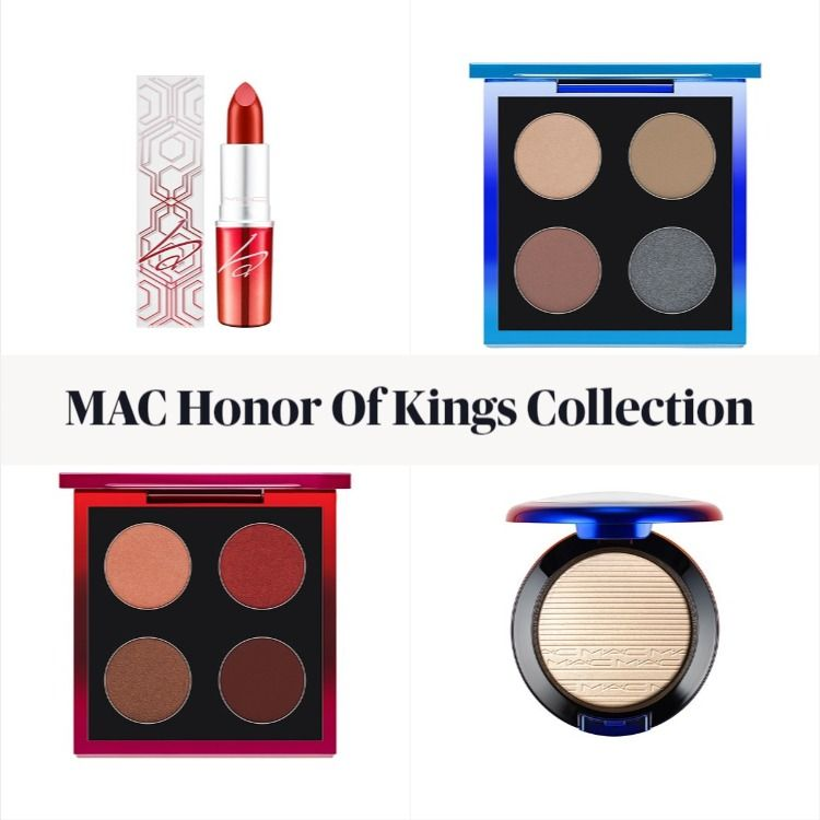 Get The Scoop On The New MAC Honor Of Kings Collection