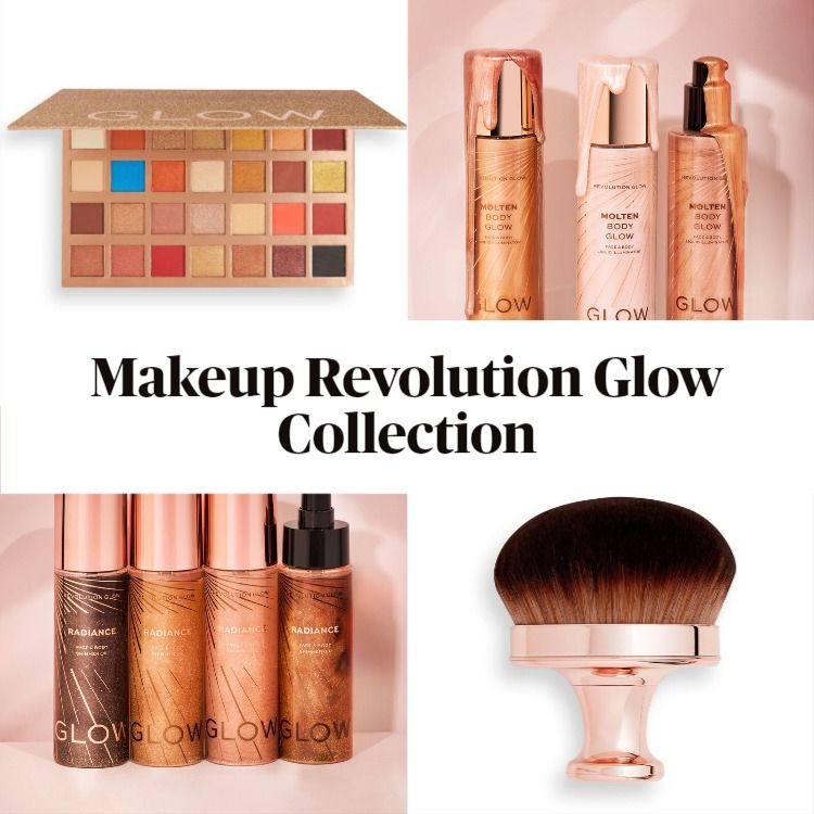 Get To Know The New Makeup Revolution Glow Collection