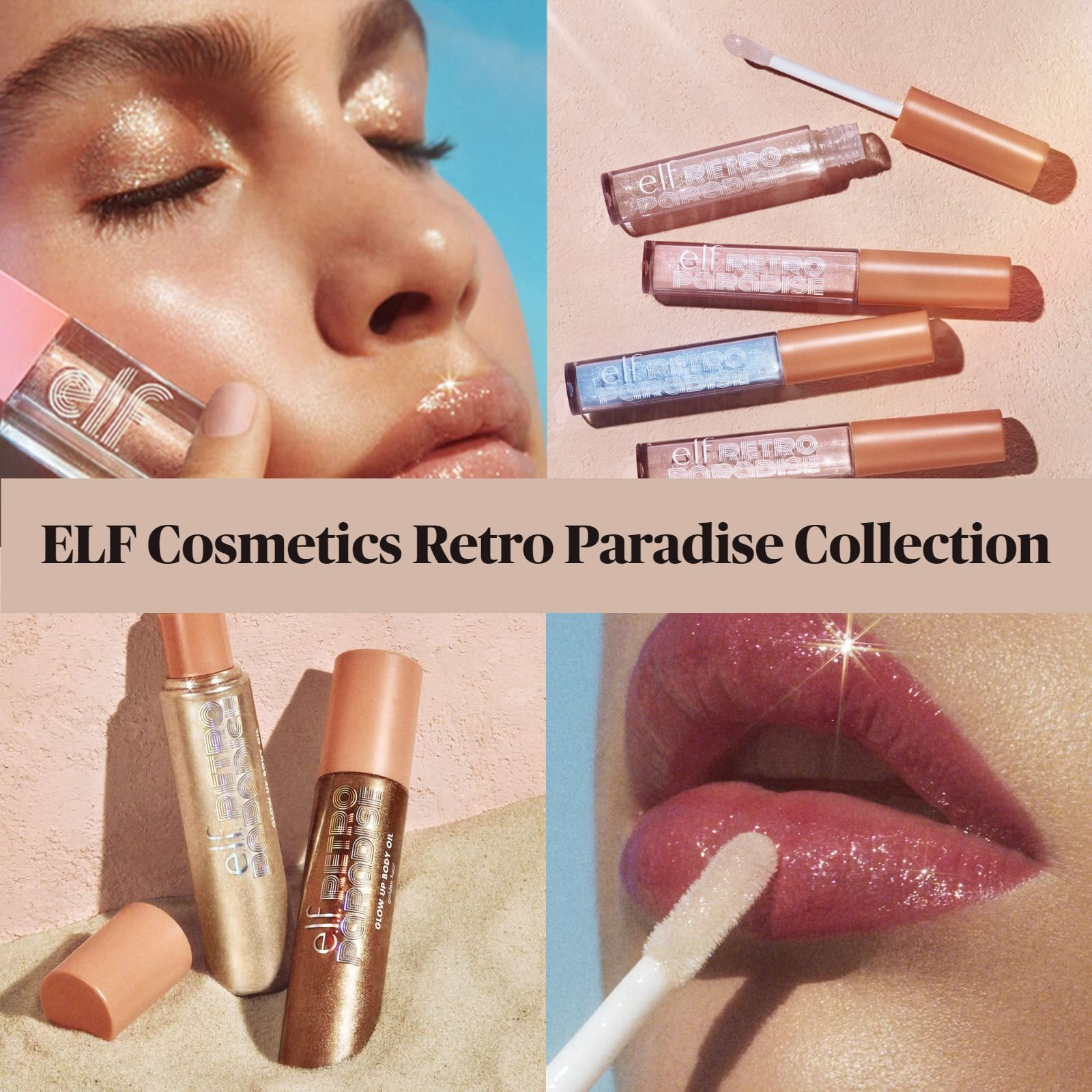 Get The Scoop On The New ELF Retro Paradise Collection