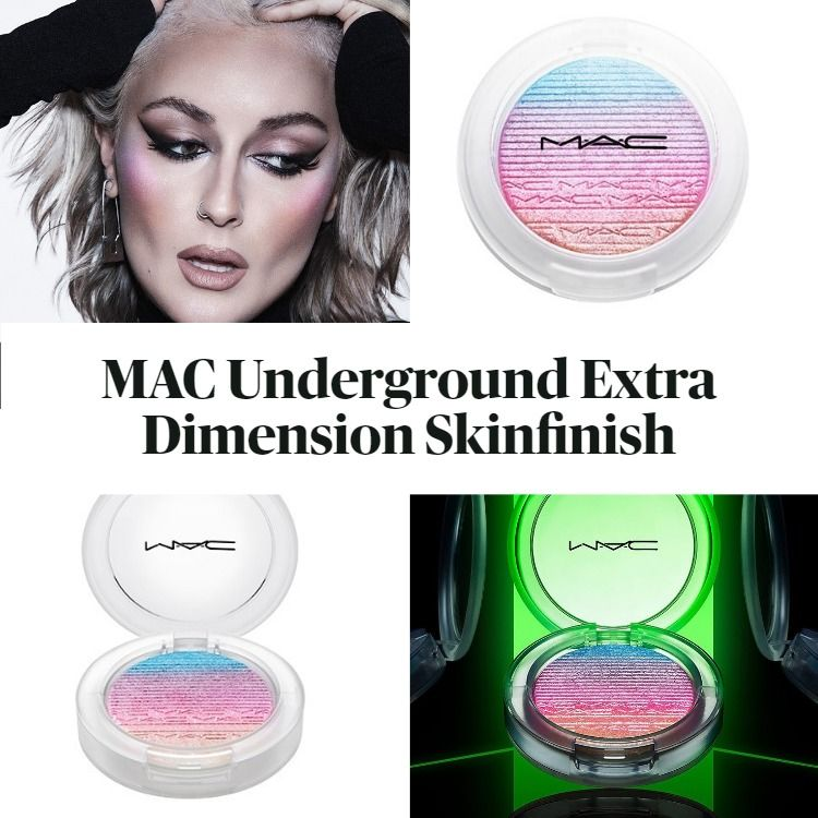 New! Limited Edition and Exclusive MAC Underground Extra Dimension Skinfinish