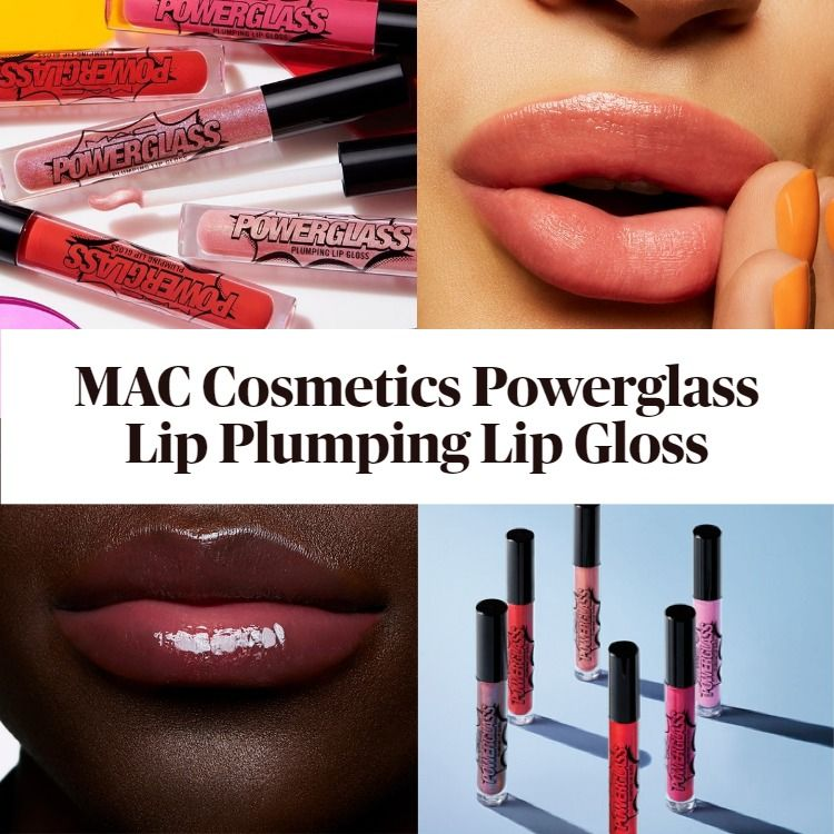 New! MAC Cosmetics Powerglass Lip Plumping Lip Gloss