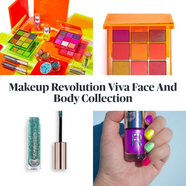 New! Makeup Revolution Viva Face And Body Collection